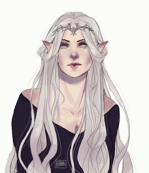 Eli Draws in 2020   Fantasy character design, Female elf ...