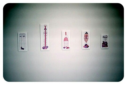"""Wendy Richdale - prints from my exhibition """"Fancy That"""" at The Framing Workshop 2013"""