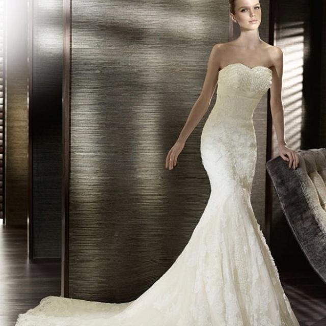 Quot The Quot Dress Shhhh Pronovias Califa Marry Me