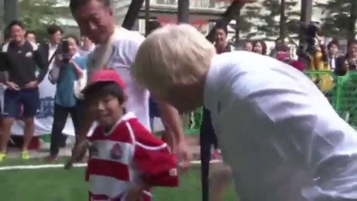 Mayor Boris Johnson Tackles Kid in Rugby - YouTube