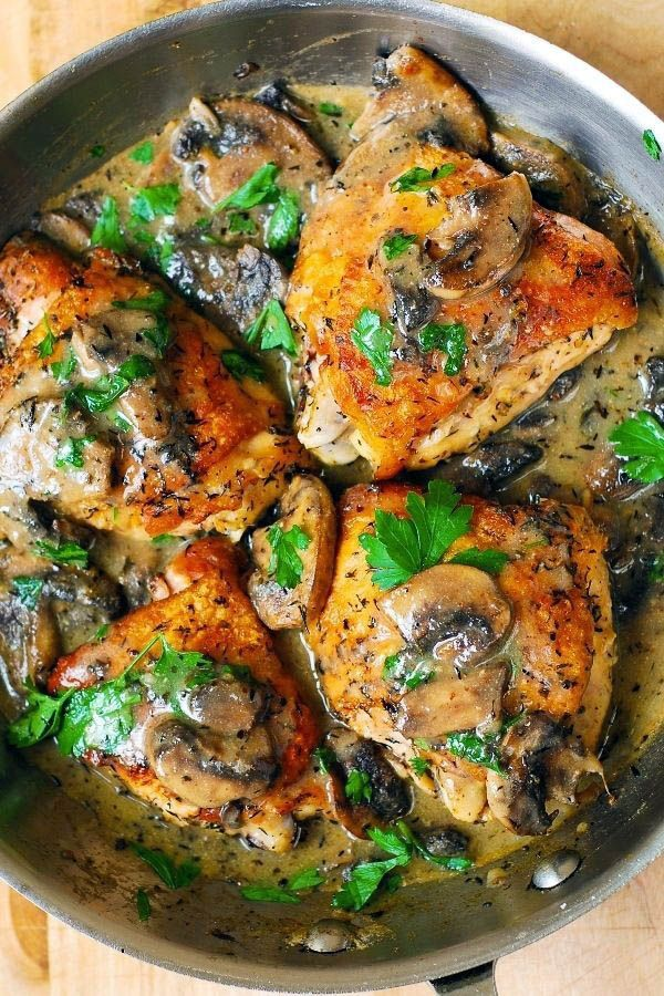 Healthy And Savory Easy Summer Chicken Recipes One And Only Edufoxy Com Chicken Mushroom Recipes Easy Chicken Recipes Stuffed Mushrooms