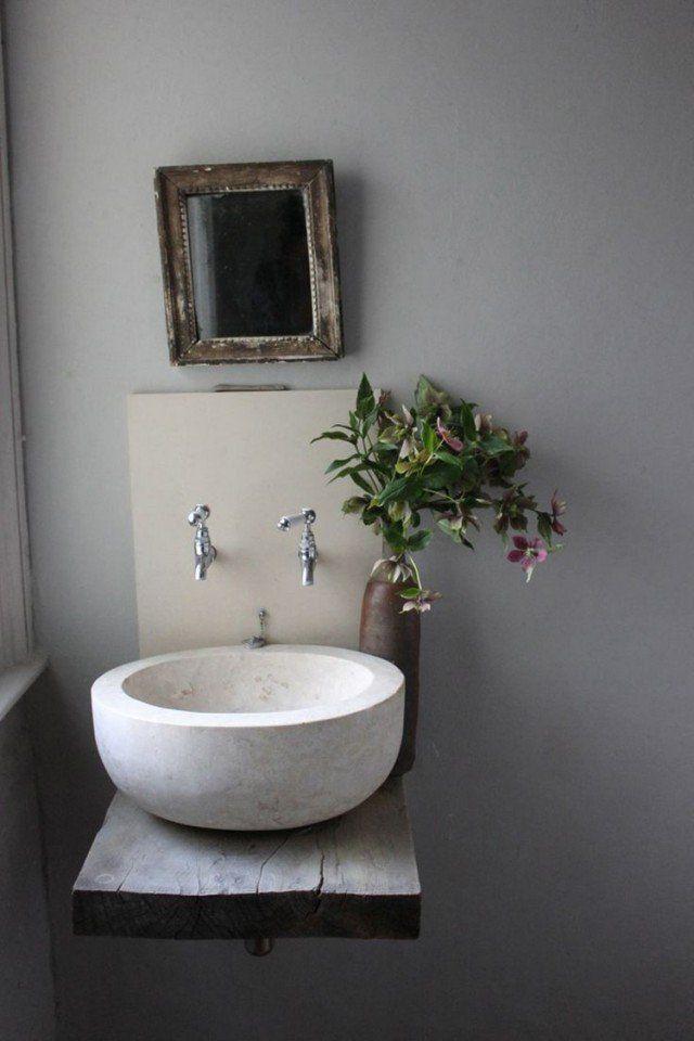 les 25 meilleures id 233 es de la cat 233 gorie plan vasque sur salle de bain en b 233 ton