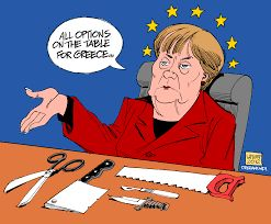 Image result for Merkel, it's Greek to me!