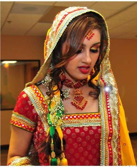 Pakistani bridle dresses 2012