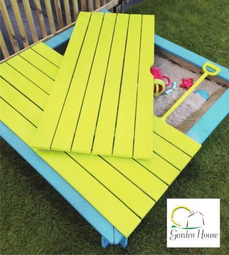 Arenero Oscar | Accesorios infantiles | Catálogo | Garden House Madera