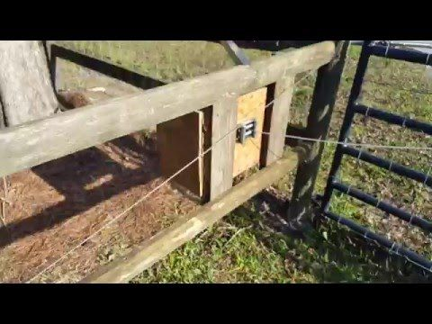 DIY Remote Gate Opener with Winch under $200 - YouTube