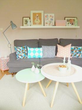 60 best images about wohnzimmer grau on pinterest   grey, fur and ... - Wohnzimmer Grau Mint