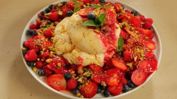 Photo of Luscious Labneh with Berries