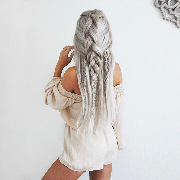 Braid goalsss ✨ Emily Rose Hannon (Shop link in bio) #shorthairstyles