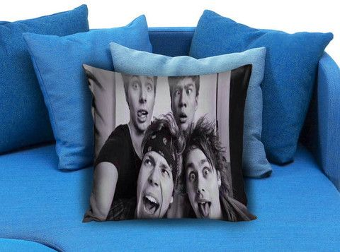 5 sos funny selfie Pillow Case #pillow #case #pillowcase #custompillow #custom