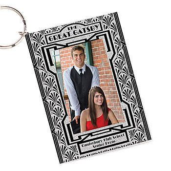 Prom Party Favors Our Art Deco Personalized Silver