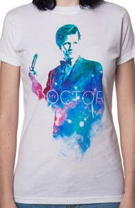 Ladies 11th Doctor Who Shirt: Doctor Who Juniors T-shirt<< one of the pics say come along pond! OMG STOP THAT FEELS TRAIN ITS RUN ME OVER ENOUGH TIMES ALREADY!!!!!!!!