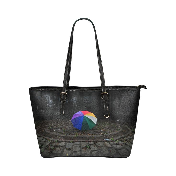 My Inner Circle Leather Tote Bag/Small (Model 1651)