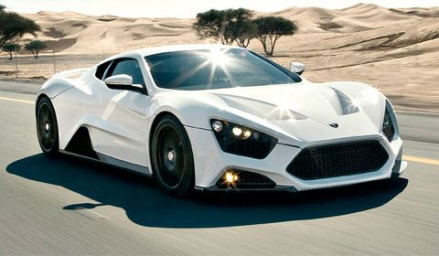 Speed machine! The Zenvo ST1 via carhoots.com