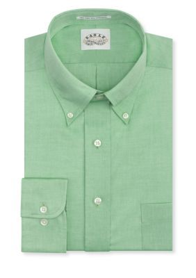 Eagle Shirtmakers Soft Green Big  Tall Non-Iron Dress Shirt
