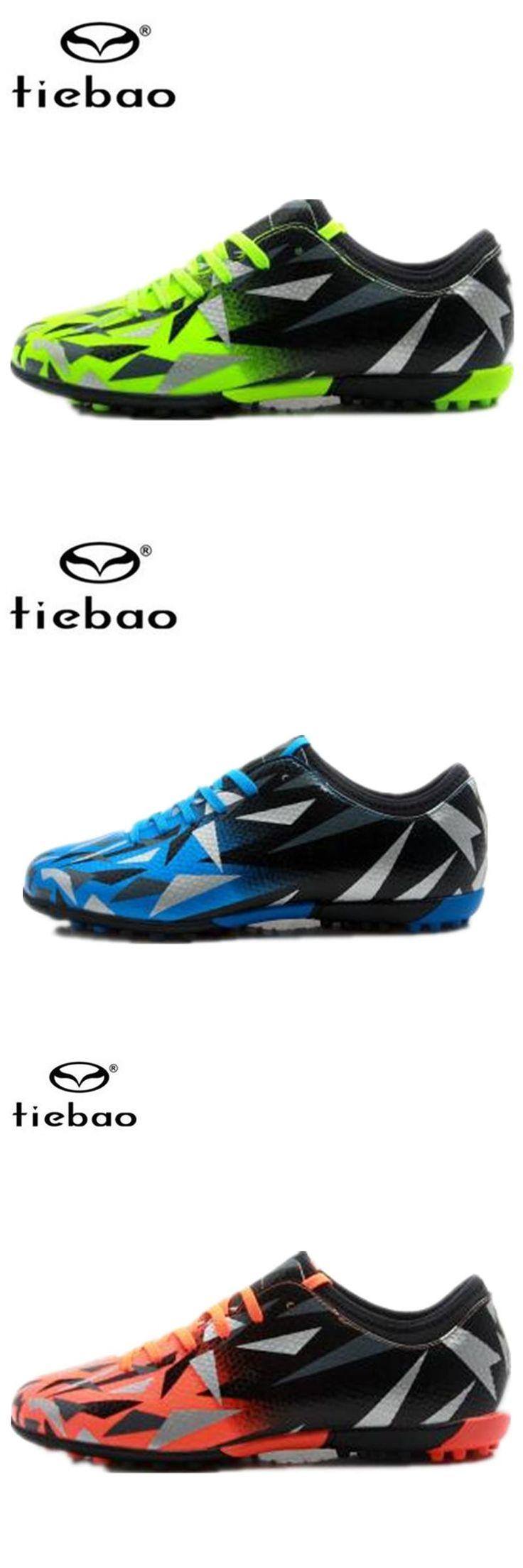 [Visit to Buy] TIEBAO football boots zapatillas futbol sala hombres botines de futbol soccer cleats superfly fussball schuhe scarpe calcetto #Advertisement