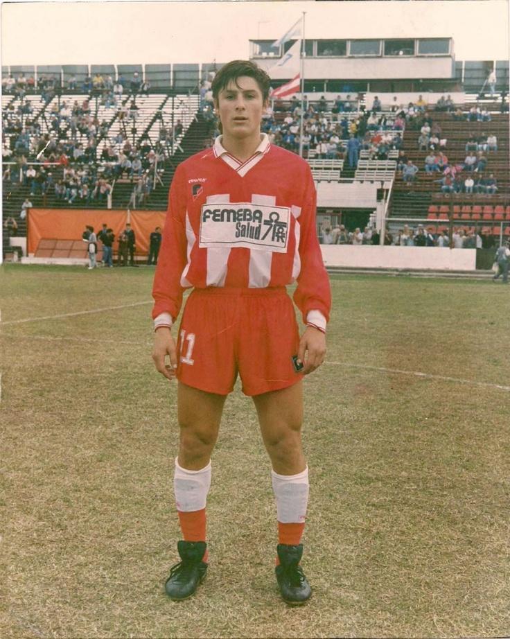 A young Javier Zanetti