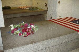 Abigail Adams' Grave in Quincy Massachusetts