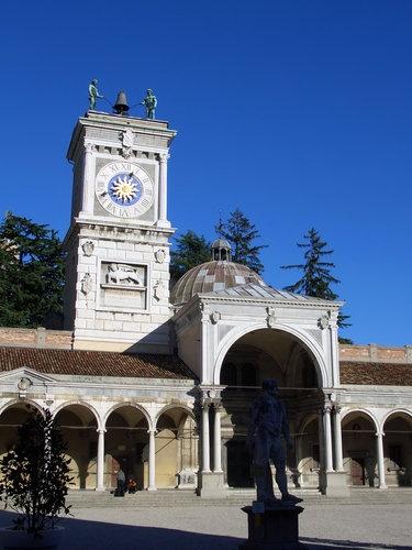 Piazza della Libertà in Udine, Italy