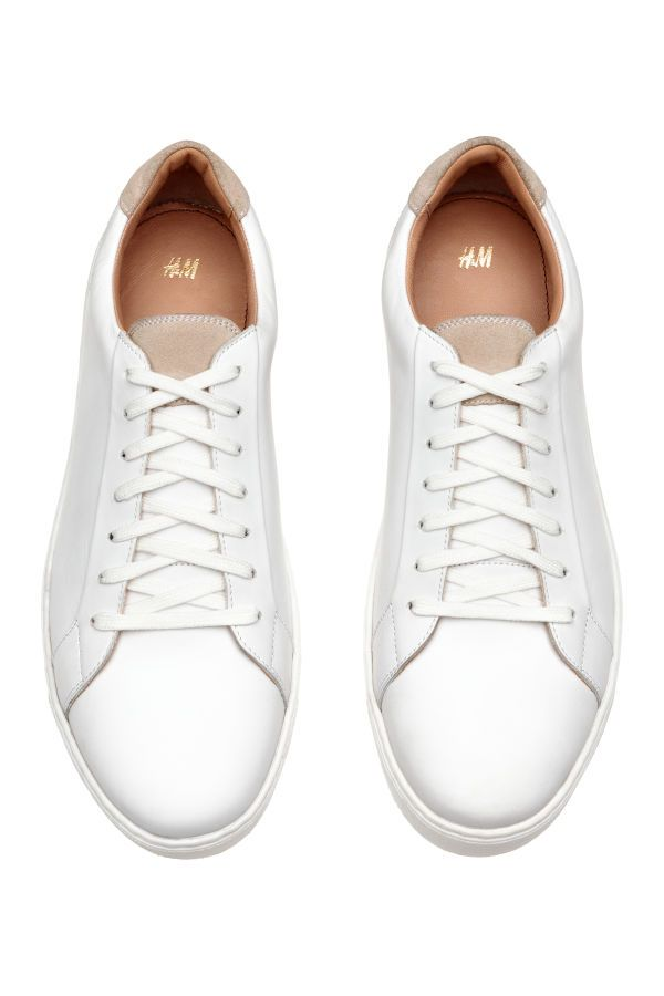Sneakers | White | MEN | H&M US in 2020 | Sneakers fashion