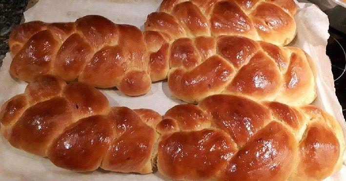 Συνταγή για νηστίσιμα τσουρέκια του Πάτερα Αθανάσιου.
