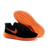 Nike Roshe Run Black With Orange