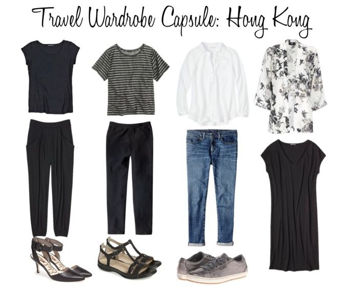 Travel Wardrobe - Hong Kong
