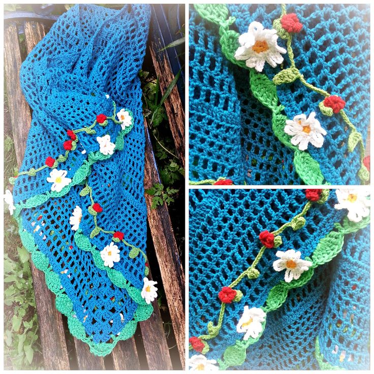 Moos en haar Moosies: #haken, gratis patroon van de bloemenomslagdoek, Nederlands, omslagdoek,