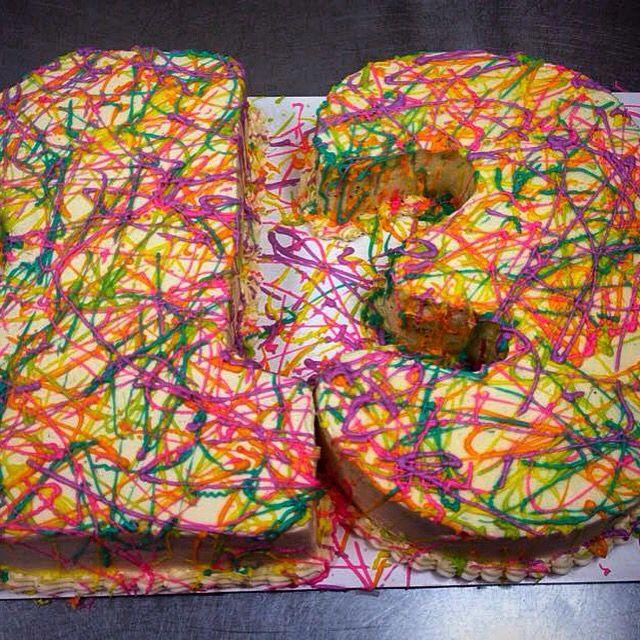 13 th birthday cake
