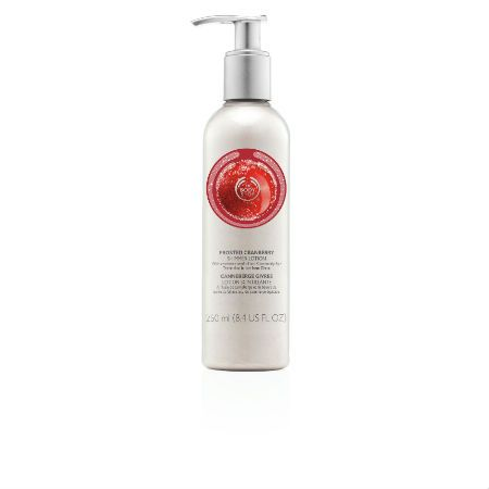 The Body Shop Limited Edition Frosted Cranberry Shimmer Lotion