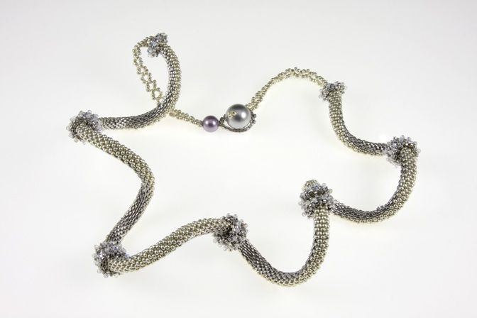 Serpentine Twist Necklace PDF (Instructions Only) $25