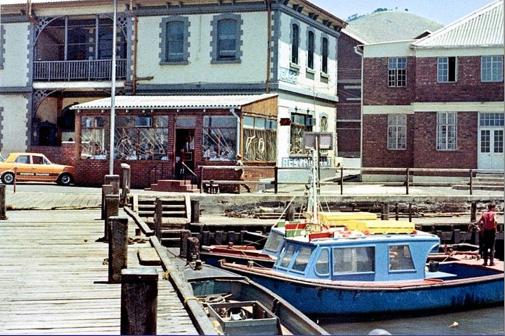 https://flic.kr/p/XmjyYo | Harbour Cafe in the 70's