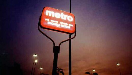 Señalética Metro de Santiago 1980