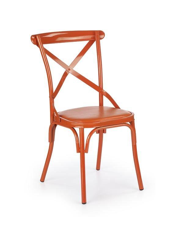 Krzesło K216 pomarańczowy