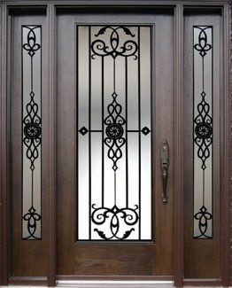 Personalizado puerta de cristal de hierro forjado vidrio insertar-imagen-Cristal de Construcción-Identificación del producto:60434963161-spanish.alibaba.com