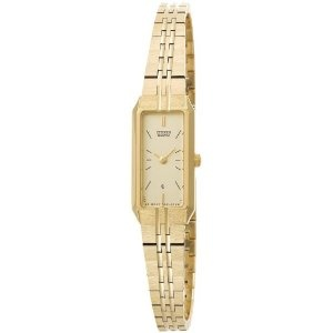 Citizen Women's EH3312-55P Gold-Tone Bracelet Watch (Watch) http://www.amazon.com/dp/B000ZPKWUI/?tag=whthte-20 B000ZPKWUI