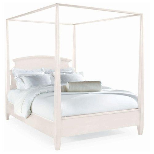 Sterling Pointe Poster Bed White Queen Pll Spencer 39 S