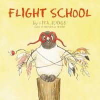 What a gem of a book. Penguin longs to fly, and his flight school instructors do their best.