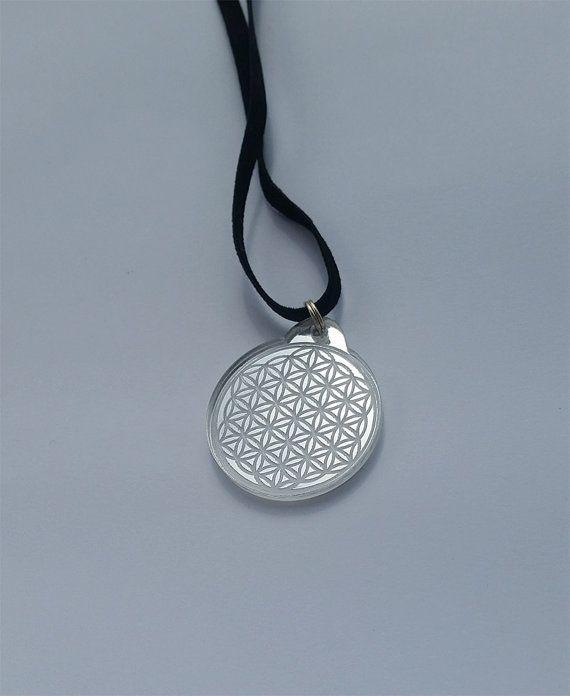 FLOWER OF LIFE mirror pendant