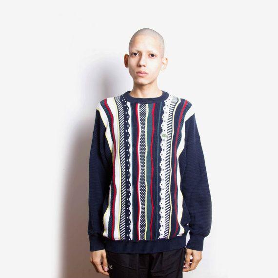 Tapis de place dans ce cavalier de pull aztèque vintage des années 80 par la…