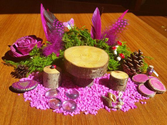 Fairy Garden Kit Pink Fairy Garden Accessories