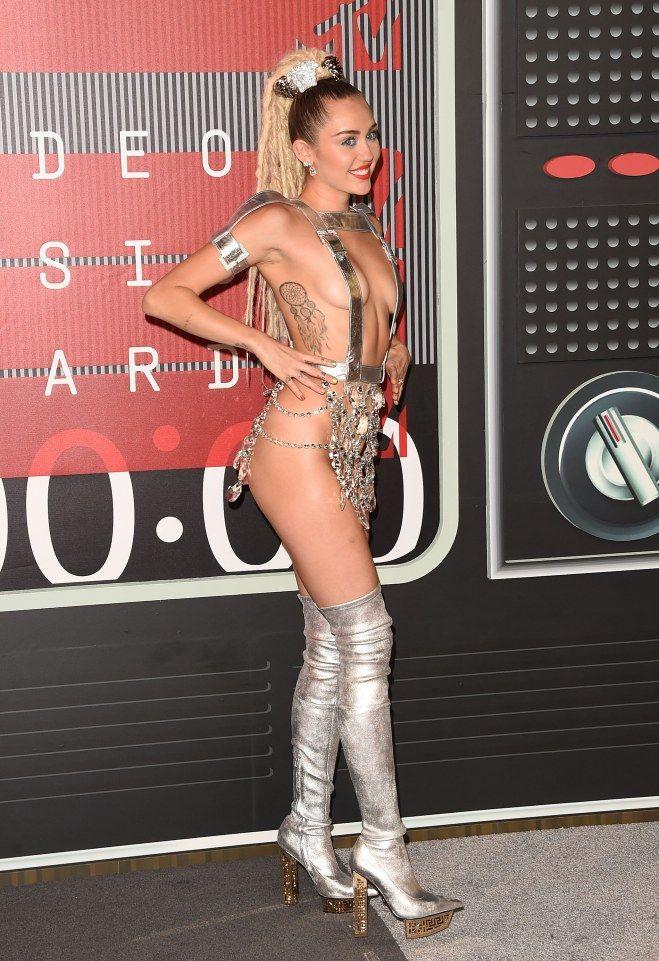 Miley Cyrus Agli MTV Video Music Awards nell'agosto 2015.