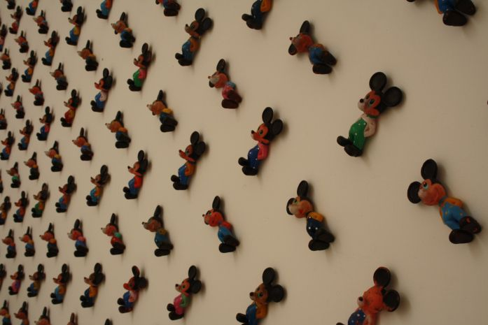 3D WALLPAPER FOR CHILDREN ROOM (Mickey Mouse -247 elements) | Pavilion of the Republic of Serbia, Venice Biennale (2013)