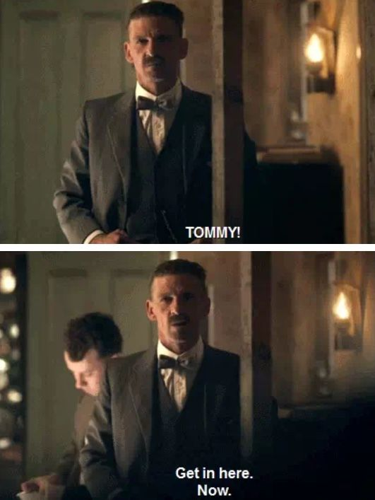 Peaky Blinders Thomas Shelby and Arthur Shelby