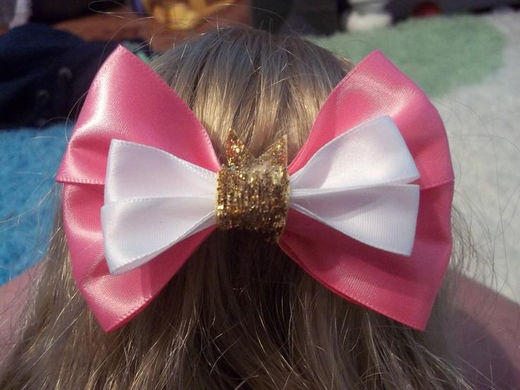 ~ Disney Sleeping Beauty Hair Bow ~