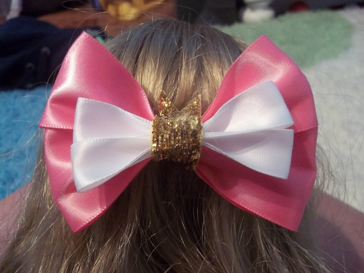 Sleeping Beauty Hair Bow