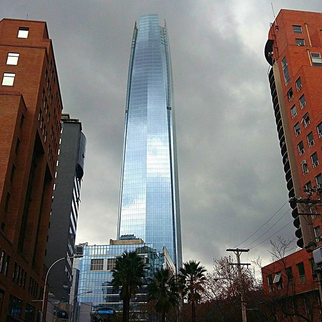 The storm it's coming  Costanera Center Pic by me @carlosdaraya