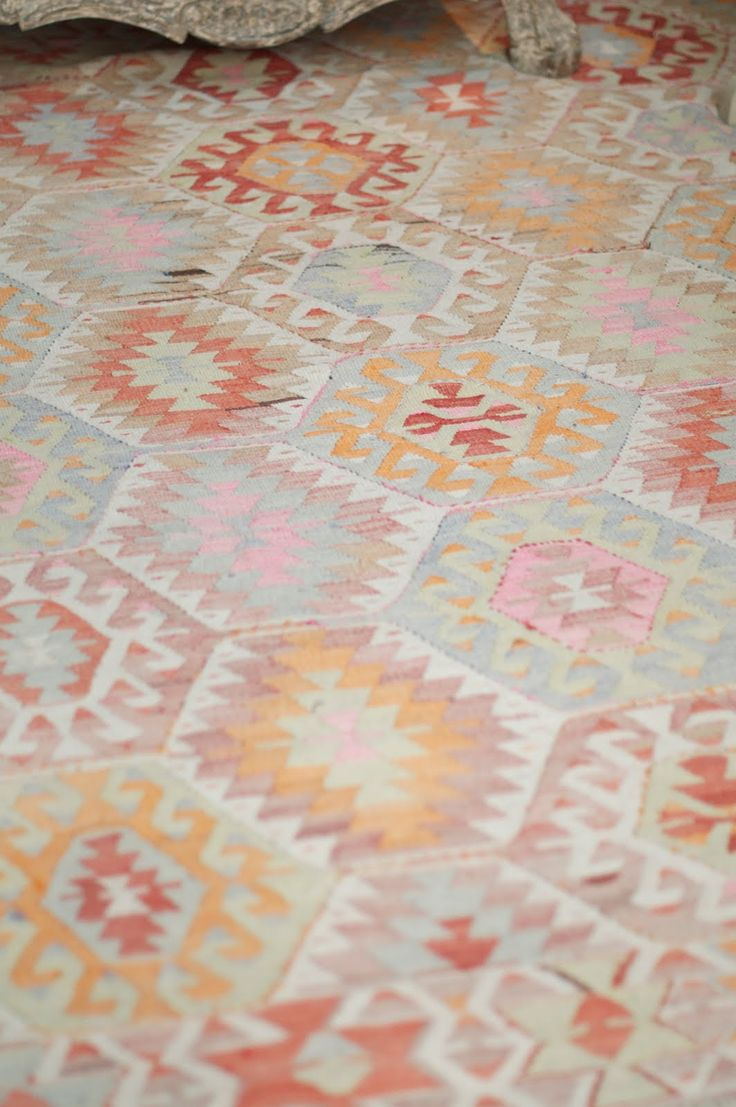 Turkish-Barak Vintage Rug Bon Point Caitlin Wilson