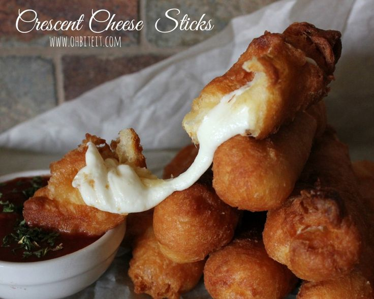Crescent Roll Cheese Sticks