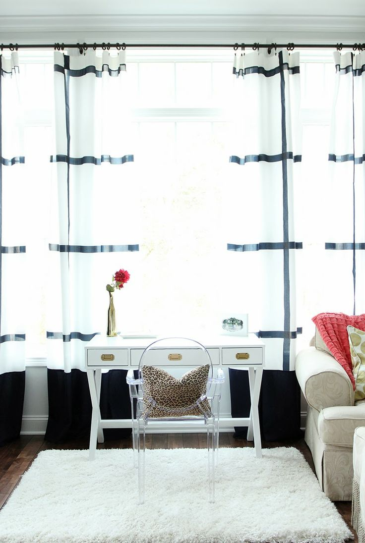17 Images About Build Ikea Panel Curtain On Pinterest: #Target Desk Makeover And #IKEA Curtain Panel Hack
